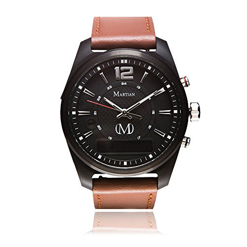 Martian mVoice Smartwatches with Amazon Alexa – Analog + Voice (B01M3PJS8D)