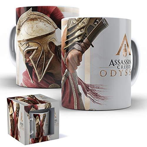 Caneca de Porcelana com Caixinha Presente Assassin's Creed Odyssey mod.19