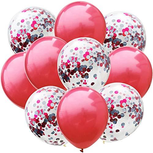 Ballon décoratif rouge