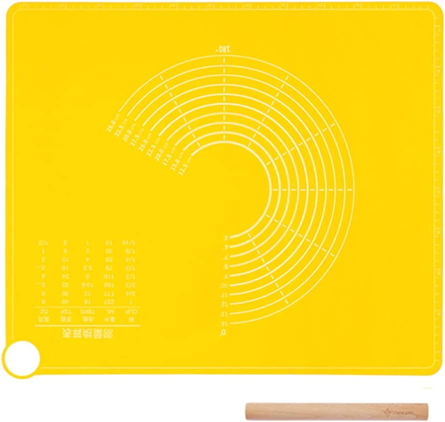 depot Silicone Rolling Pad Baking Mat Food with Measurements S Grade Oklahoma City Mall