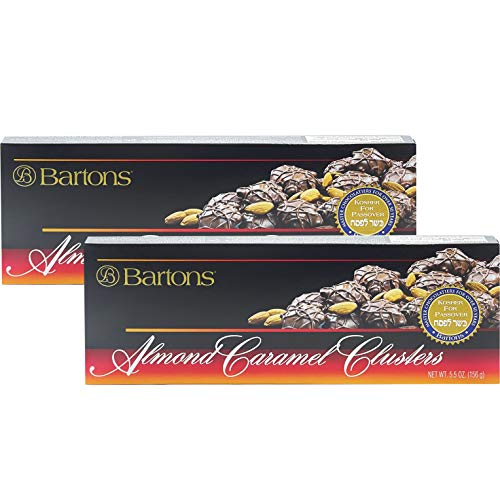 Almond Caramel Clusters, Kosher for Passover, 5.5 Oz (2-Pack)
