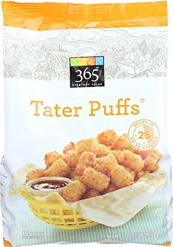365 Everyday Value, Tater Puffs, 32 oz, (Frozen)