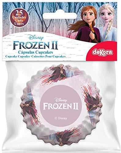 Dekora - Cupcakes mit Disney Frozen 2 - 25 Stück