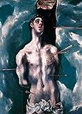 Kunstdruck/Poster: EL Greco Der Heilige Sebastian -