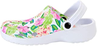Bits and Pieces - Bloom Heel-to-Toe Comfy Blooming Garden Clogs