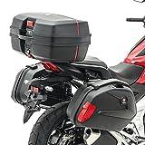 Maletas Laterales + baul para Kawasaki Versys 1000/650 SCT8 Negro
