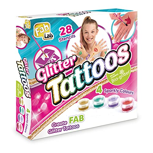 FabLab FL003 Glitter Tattoos, Mixed