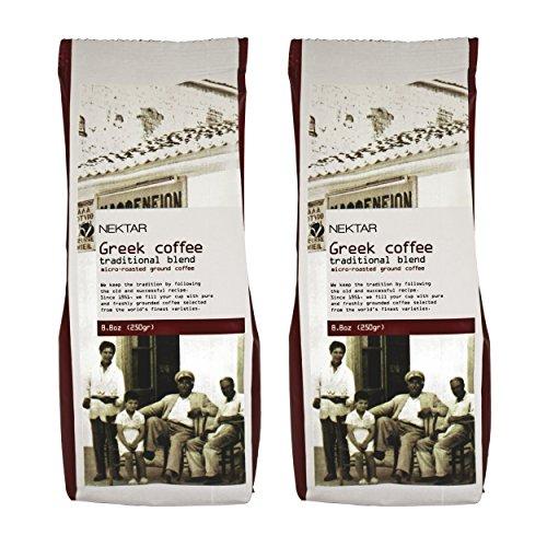 Kaffee Griechischer Tratitionelle Mischung 500gr (Paket 2 luftdicht geschlossener Stücken von je 250gr)