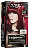 L'Oréal Paris Haarfarbe Infinia Préférence 3.66 Intensives Dunkelrot, 3er Pack (3 x 1 Stück)