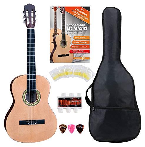 Classic Cantabile AS-861 guitarra de concierto 7/8 set de principiantes