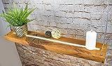 Denidro Lights   LED Hängelampe Holz   Tribus   3-flammige Dimmbare Pendelleuchte Esstisch   Deckenlampe Wohnzimmer mit LED Streifen aus massiver Wildeiche   rustikale Retro Lampe (Wildeiche, 100 cm) - 3