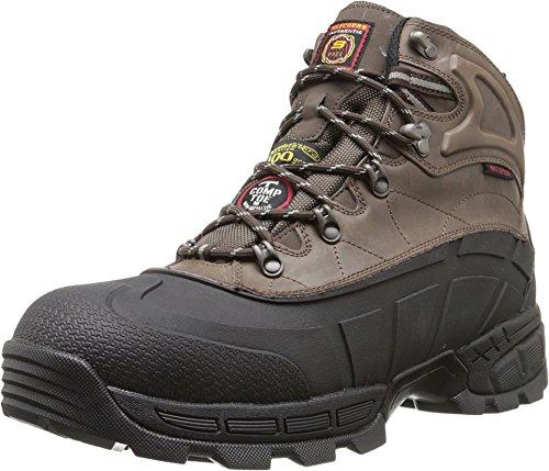Skechers for Work Men's Radford Boot,Black/Brown,10 M...