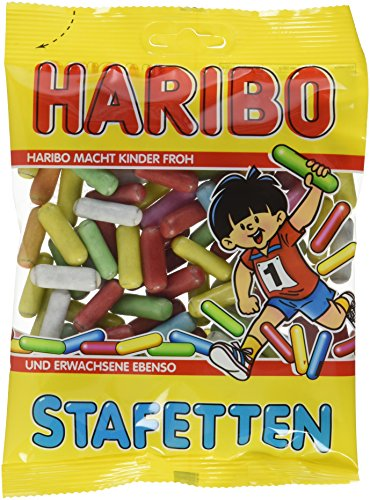 Haribo Stafetten, 20er Pack (20 x 200 g Beutel)