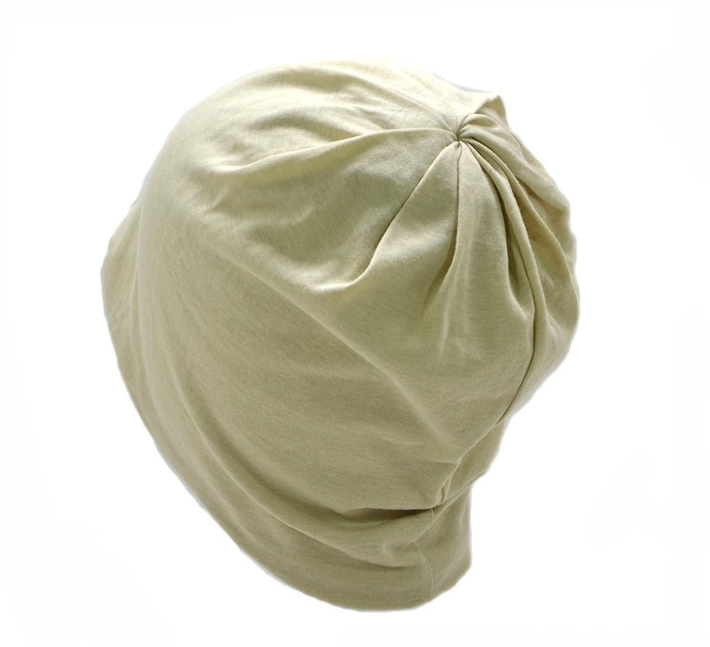 屋内困ったピーブナイトキャップ 日本製 帽子 ルームキャップ 室内帽子 おしゃれ コットン100% オーガニック 柔らか素材 キューティクル パサつき予防 抜け毛防止 ねぐせ 寝癖 選べる豊富なカラーバリエーション