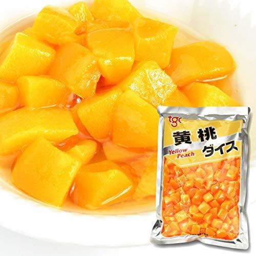 桃 黄桃 (ダイス) 1袋 (1袋1.5kg入り) 大袋 国華園