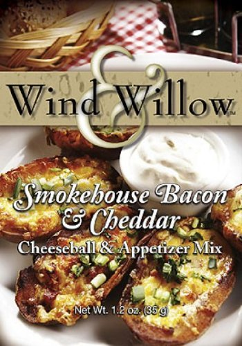 Wind Willow Smokehouse Bacon Cheddar Max 77% OFF free shipping Cheeseball Mix