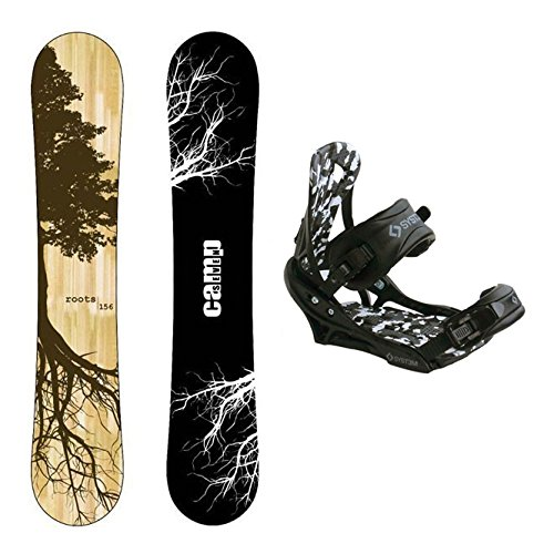 Camp Seven New Roots CRC Snowboard +APX Bindings Men's Snowboard Packages (159 cm)