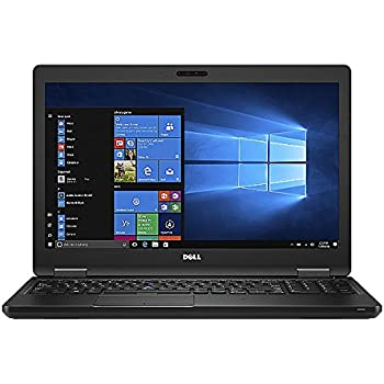 Dell Latitude 5580 HD 15.6 Inch Business Laptop Notebook PC (Intel Core i5-6300U, 8GB Ram, 256GB SSD, Camera, WiFi, HDMI, Type C Port) Win 10 Pro with Numeric Keyboard (Renewed)