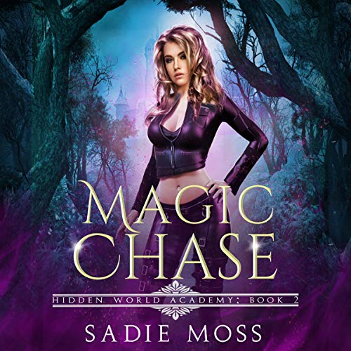 Magic Chase audiobook cover art