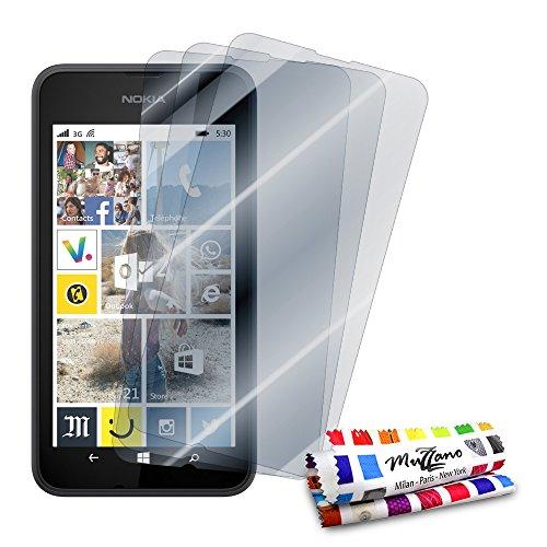 Muzzano Ref 800180 - Displayschutzfolie, Nokia Lumia 530, durchsichtig