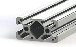 PDTech Custom Cut T-Slot V-Slot Frame 20mm x 40mm 2040 Series Aluminum Extrusion - up to 6 feet (1.828 Meters) Long