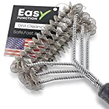 Easy Function Grill Brush Bristle Free - 100% Safe BBQ Brush & Grill Cleaner - Best Barbecue Brush...