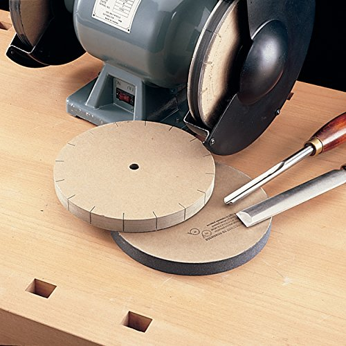 Razor Sharp Edgemaking System 8 Inch Deluxe Blade Sharpening Kit | For 6 Inch Bench Grinder | Made in the USA