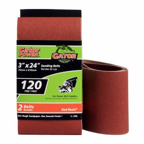 "ALI INDUSTRIES 3155 Sanding Belts, 3"" x 24"""