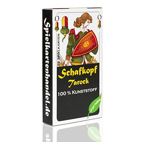 TS Spielkarten Schafkopf Karten aus 100% Kunststoff (Plastik +) bayrisch, wasserfest