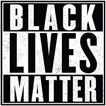 "Black Lives Matter - 4"" Bumper Sticker (1)"