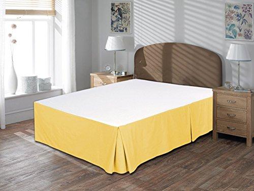 Tour de lit 100% coton égyptien 40,6 cm de hauteur, doré, Euro King IKEA