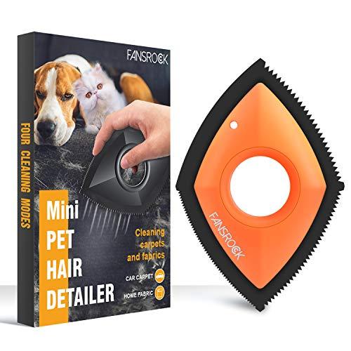 Fansrock Quitapelos para Mascotas, Pet Hair Remover, Limpiador de Pelo de Mascotas, Cepillo Reutilizable Lavable del removedor del Pelo del Animal doméstico para el sofá de la Ropa de la Alfom
