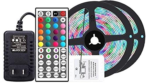 Speedrid LED TV Retroilluminazione 3M,Impermeabile Striscia LED RGB USB con 44 Telecomando 3M Striscia LED per HD TV da 40-60 Pollici,PC Monitor