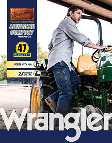 Wrangler Men's Premium Performance Advanced Comfort Cowboy Cut Reg Jean