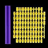 WZCC Número Alfabeto Molde de pastel Carta de bricolaje Prensas de galletas Sellos de cortador de galletas Prensa Braille Molde de fondant Herramienta de pastel Pan de jengibre Suministros de cocina
