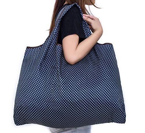 Ranoki エコバッグ 折りたたみ 買い物袋 防水素材 大容量 (HBD-058)
