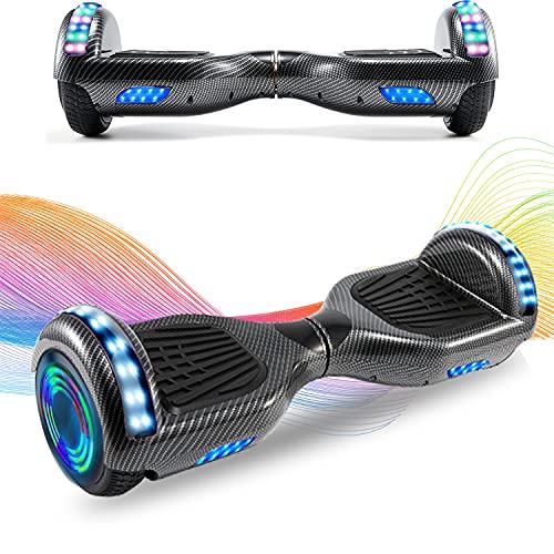 RangerBoard 6.5 Inch Hoverboard Balance Board Self Balancing Elektrische Scooter Skateboard Wielen met LED-lichtmotor 700W Bluetooth voor Kinderen en Volwassenen