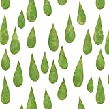 Große Tropfen (grün), Bio-Sommersweat (French Terry), 155