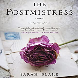 The Postmistress audiobook cover art