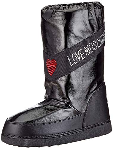 Love Moschino JA24022G1BIW1000, Bottines Femme, Noir, 41 EU
