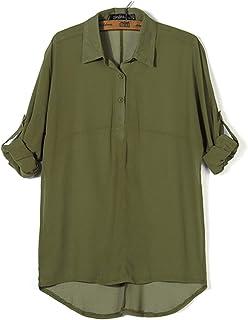 [LIBECLO(リベクロ)] カットソー シンプル 五分袖 長袖 シャツ 無地 ルームウェア 良質素材 吸汗速乾 薄手 部屋着