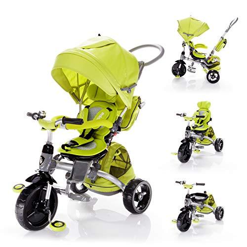 Zopa Triciclo Modello CITIGO Passeggino per Bambini (Kiwi Green)
