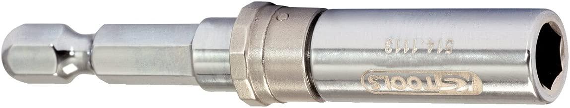 Llave de vaso para puntas XZN KS Tools 911.1345 corta, 1,27 mm//0,5