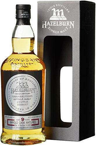 Hazelburn 9 Years Old Barolo Cask Whisky mit Geschenkverpackung (1 x 0.7 l)