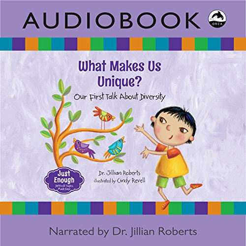 What Makes Us Unique? audiobook cover art