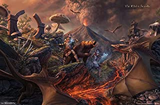 Trends International Elder Scrolls: Online-Battle Wall Poster, 22.375