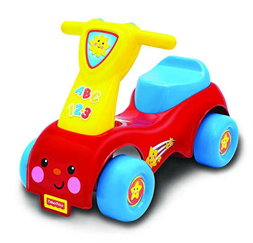Fisher Price 8338 – FP LP Push and Scoot Ride on Enfant, véhicule