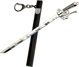 Attack On Titan Keychain Anime Cosplay Accessories Novelty Keychain