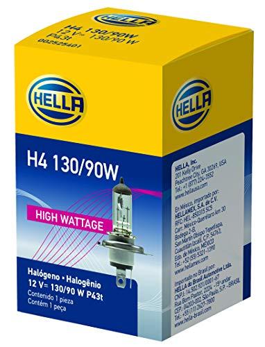 HELLA H4 130/90W High Wattage Bulb, 12V