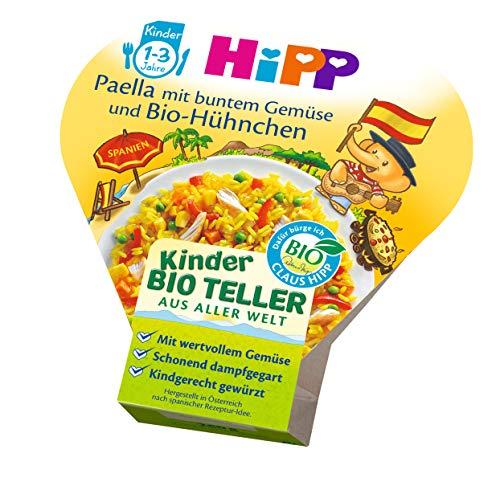 HiPP Paella mit buntem Gemüse und Bio-Hühnchen, 6er Pack (6 x 250 g)